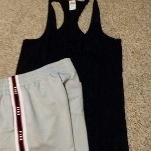 VS Pink tsnk & shorts